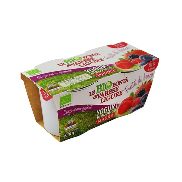 Yogurt Magro Frutti di Bosco Le Bio Bontà