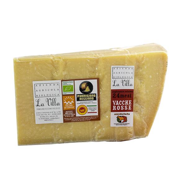 Parmigiano Reggiano Vacche Rosse minimo 24 mesi Biologico
